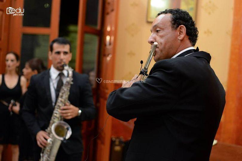 Flauta e Sax