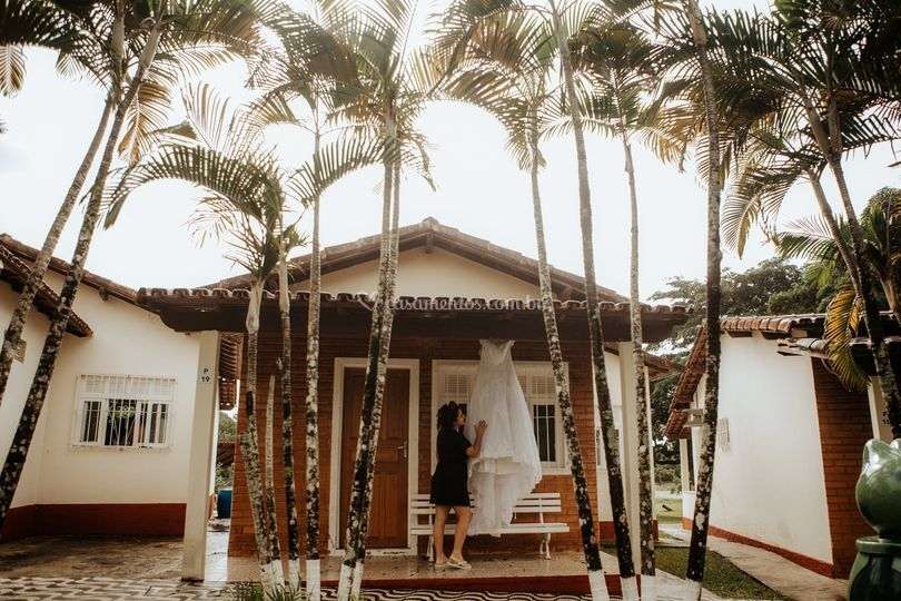 Making of da noiva / Vestido
