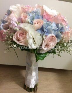Cores suaves, lindo bouquet