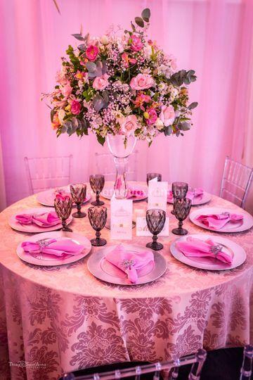 Casamento(Mesa dos Convidados)