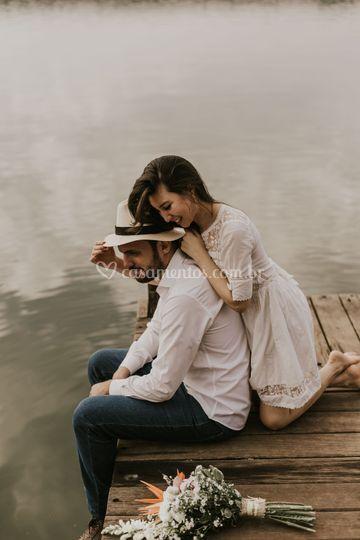 Romance no lago