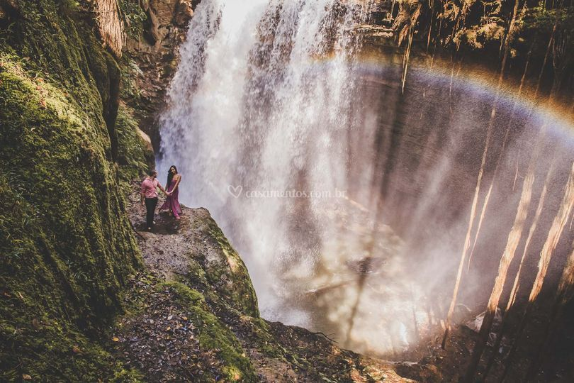 Romantico em cachoeira