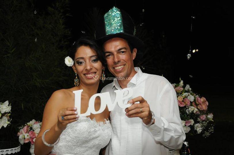 Maria Augusta e Luiz