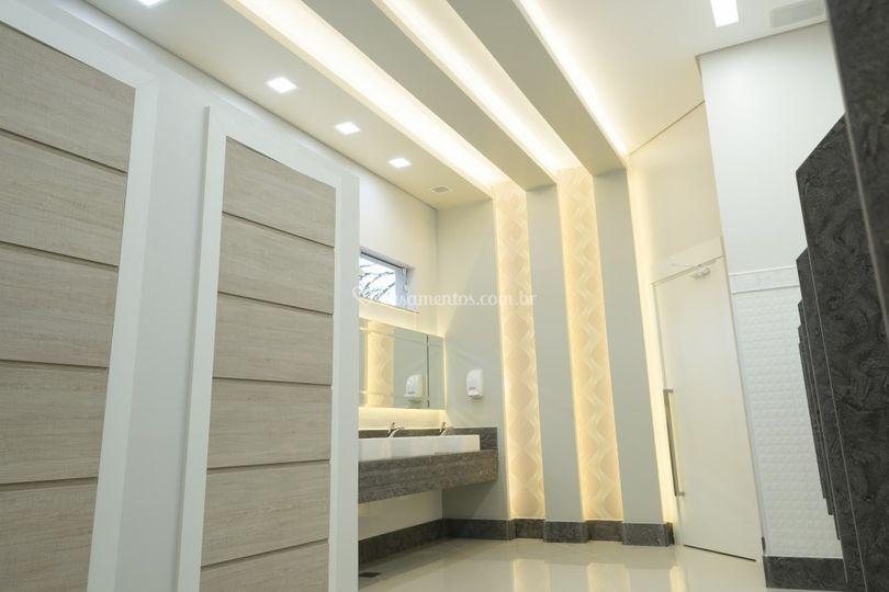 Banheiro masculino casa sales