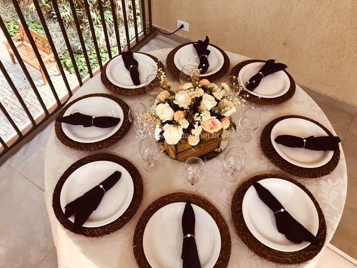 Mesa do jantar