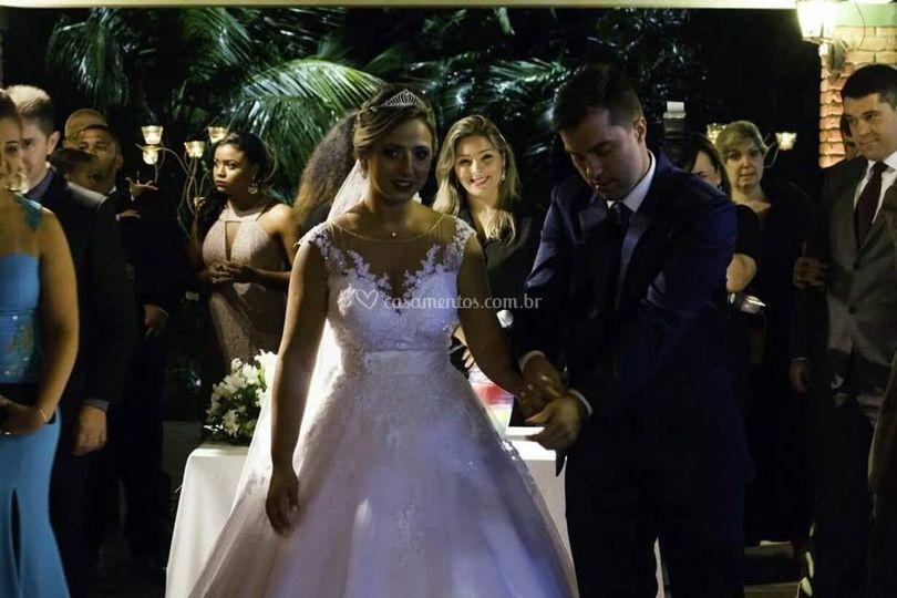 Em fim casados!