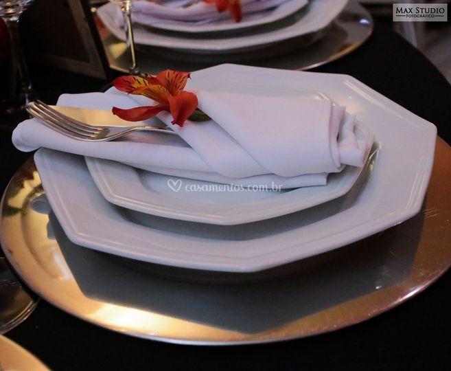 Montagem de mesas