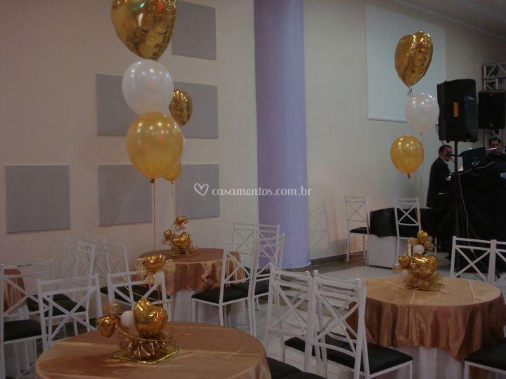 Oficina encantada prom eventos for Centros de mesa para oficina