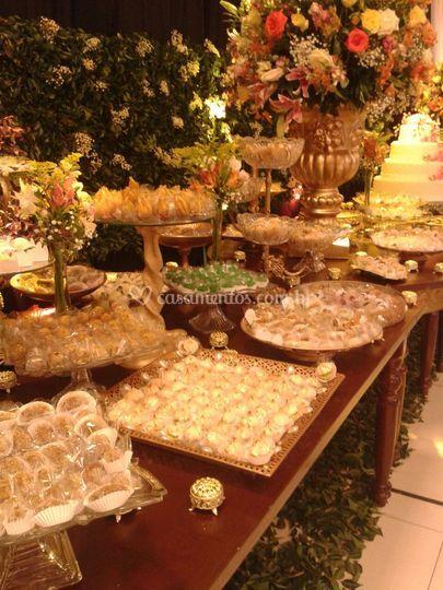 Espaço para buffet