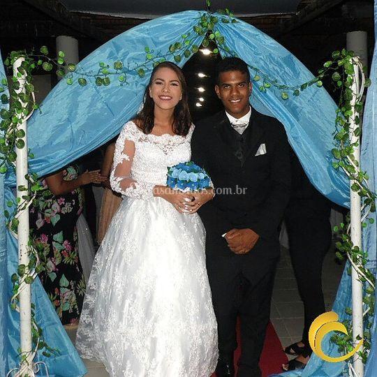 Casamento em recepção