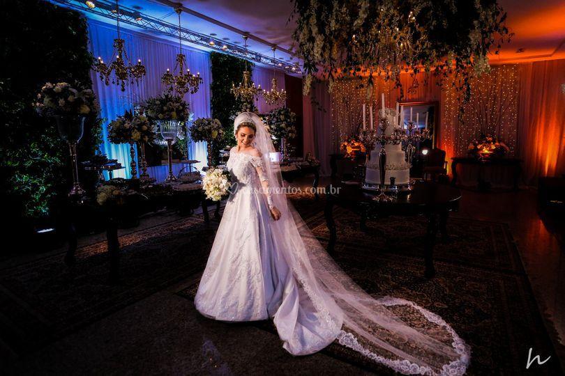 Retrato da noiva.