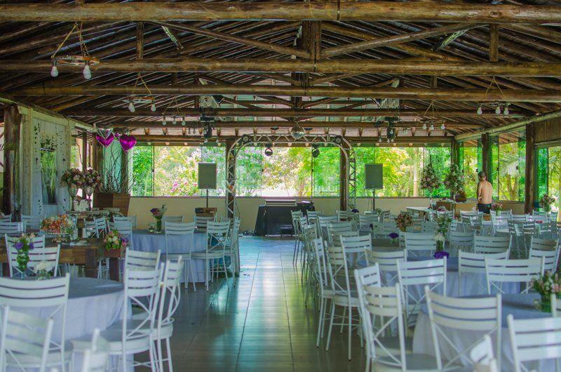 Salão amplo - 250 convidados