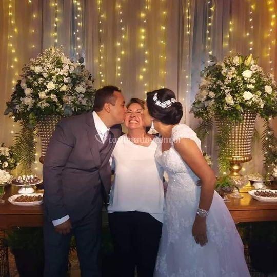 Noivos Elaine e Paulo
