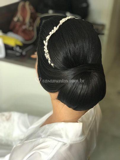 Penteado para noivas Clássicas