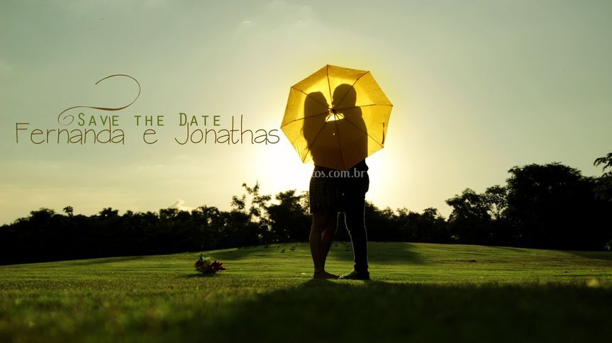 Save the Date Fernanda e Jonas