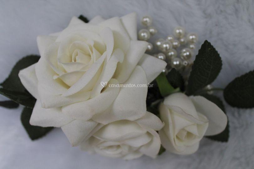 Flores e pérolas
