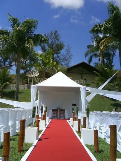Tendas decoradas para  casamentos