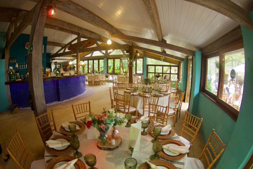 Espaço interno jantar