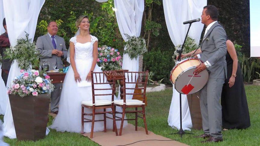 Casamento no ar livre