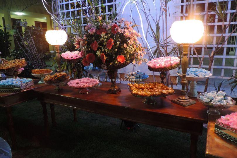 Área livre do buffet