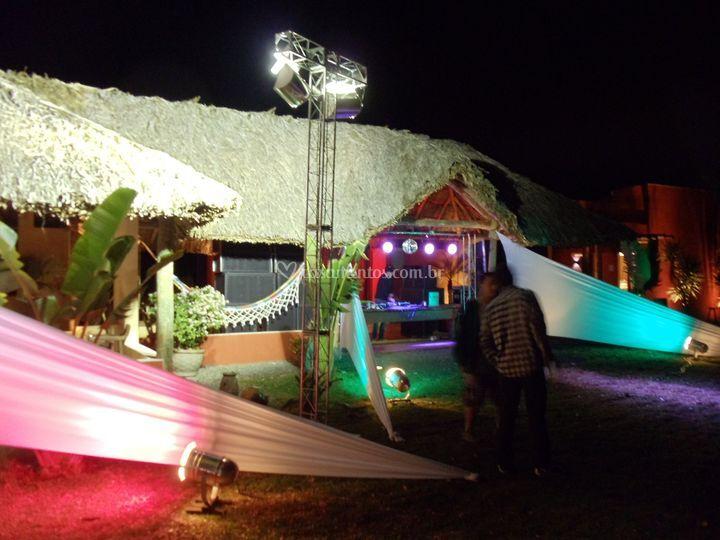 Iluminação e estruturas