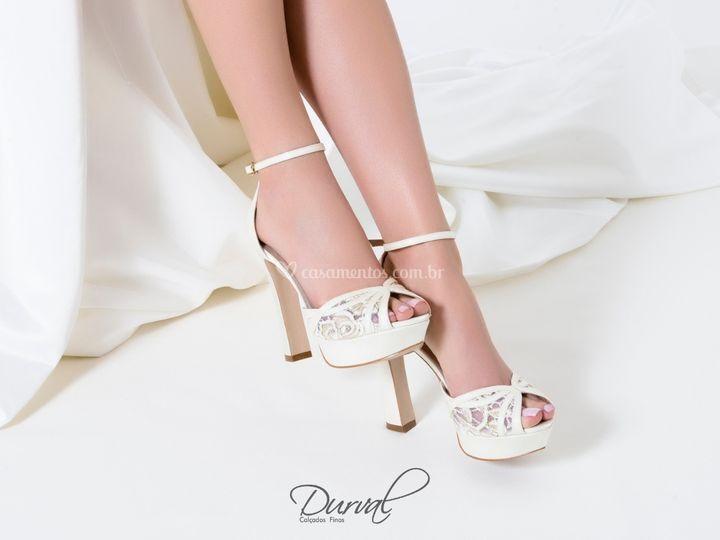 Sandália Noiva Durval Calçados