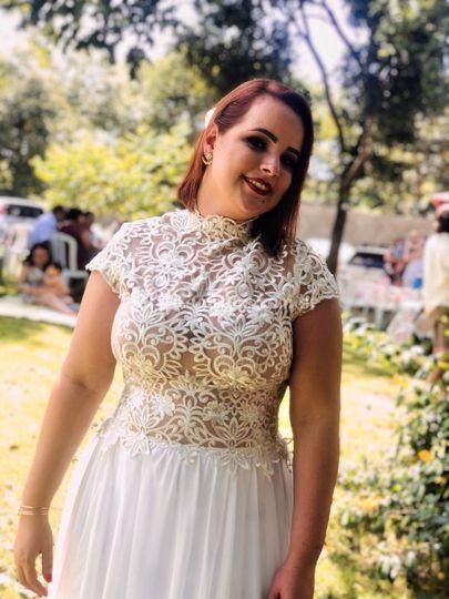 Noiva Ana Cláudia