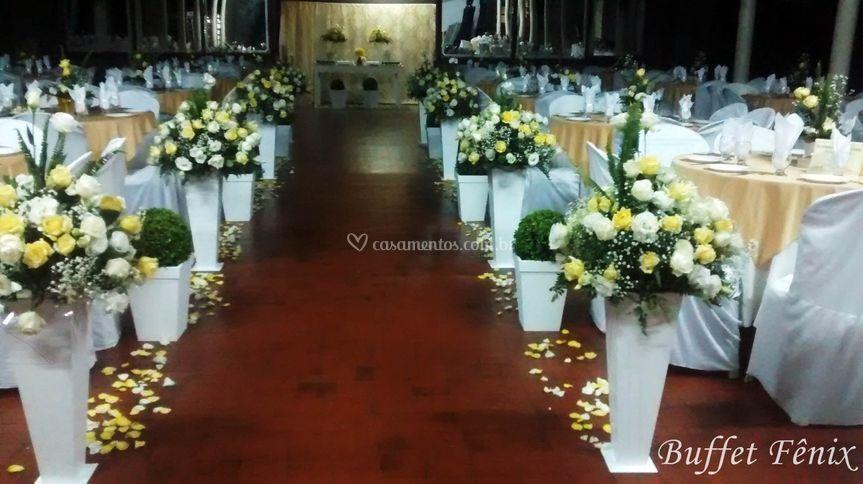 Decorações para Salão de Festa
