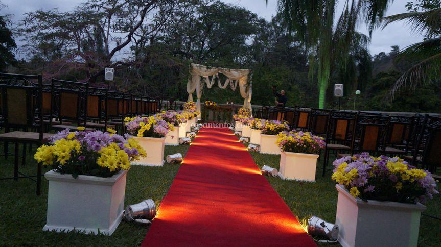 Iluminação cerimônia