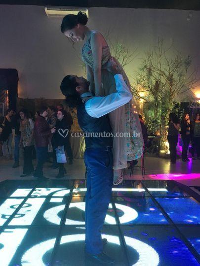A dança une duas almas!