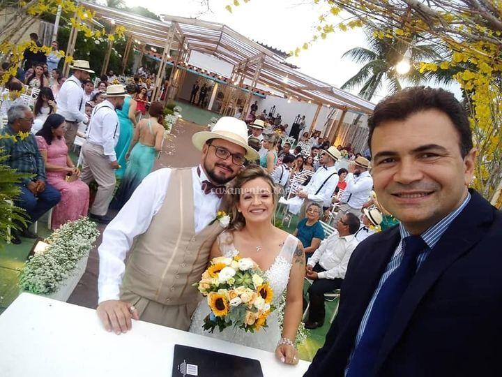 Celebrante Saulo Galdino