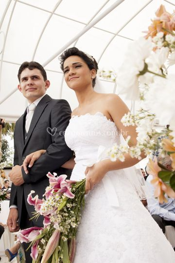 Angélica e João Vitor