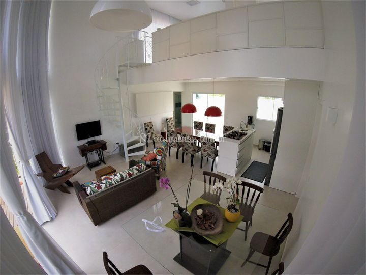 Interior da casa