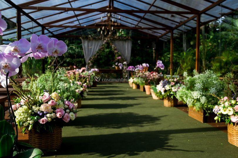 Cerimônia - Espaço Jardins