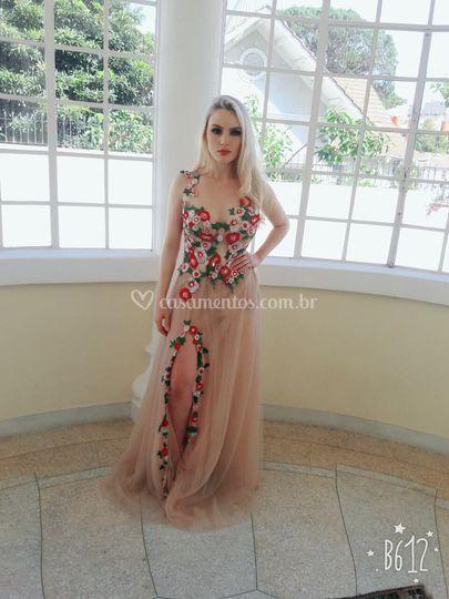 Vestido Floral Festa