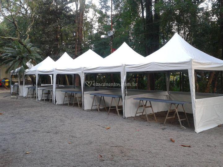 Tenda para festa junina