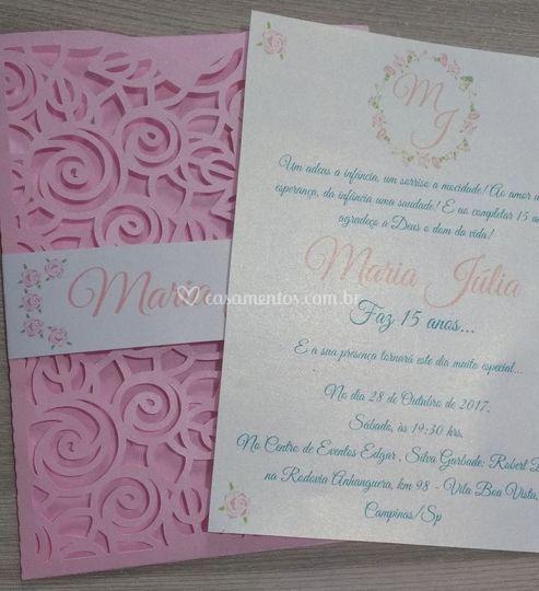 Convite Rosinhas