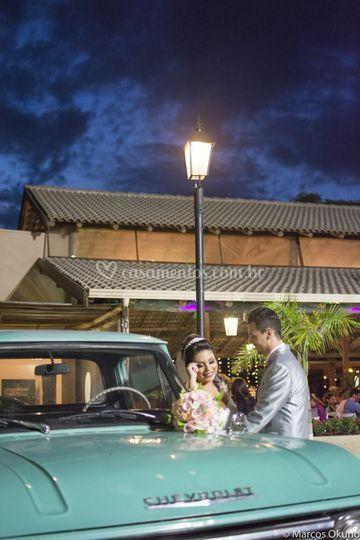 Carro para noiva