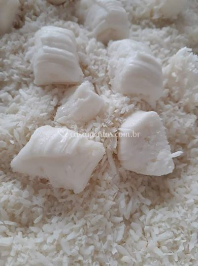 Balas de coco tradicional