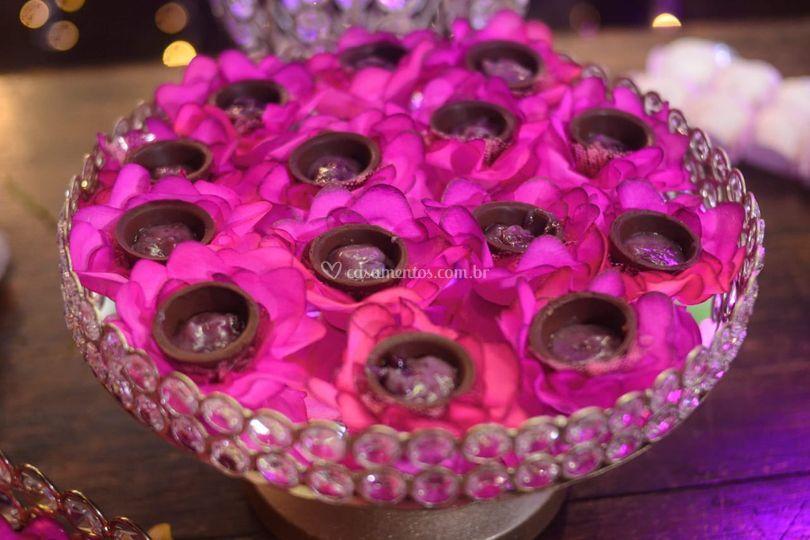 Copinho de chococolate