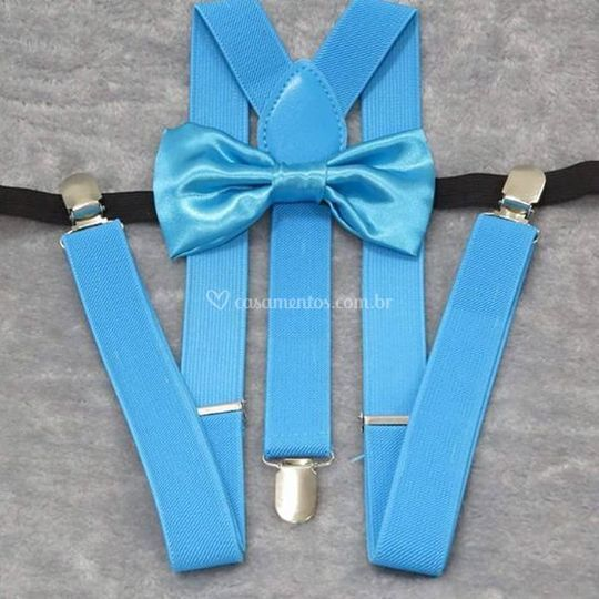 Kit suspensório+gravata borbol