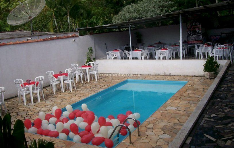 Decoracion Piscina Cool Decoracin Para Fiesta En La Piscina With