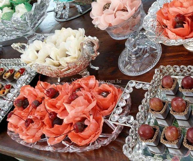 Composição de mesas de doces!