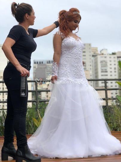 Ensaio fotográfico noiva