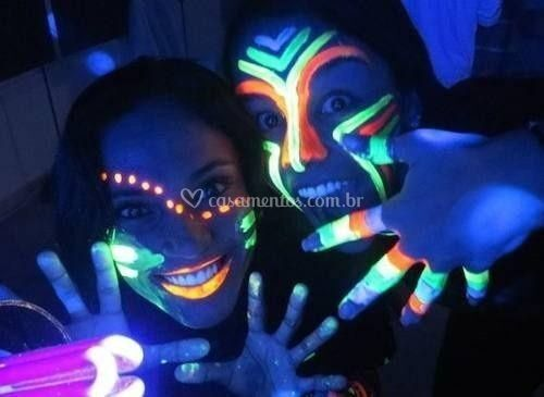 Evento Neon Pinturas Florescen