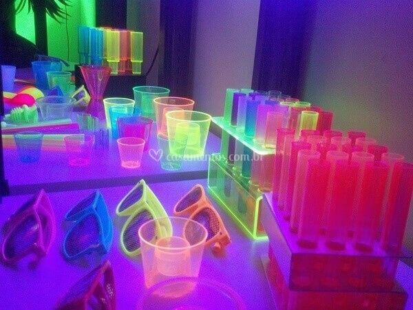 Decorações Neon
