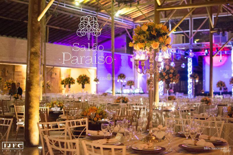 Salão Paraíso 300 pessoas