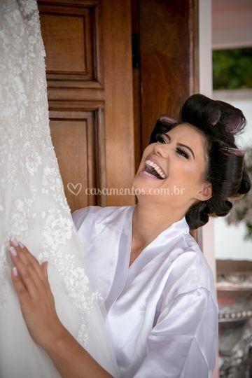 Alegria de noiva