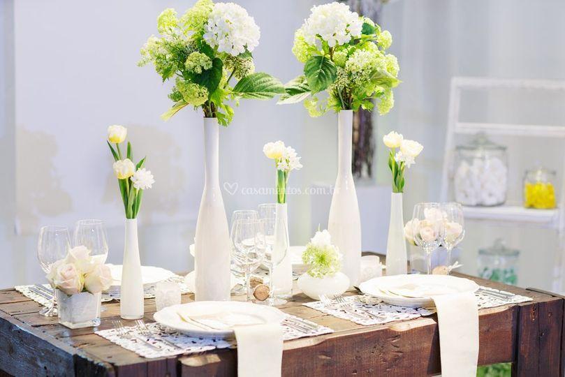 Mesas dos Noivos