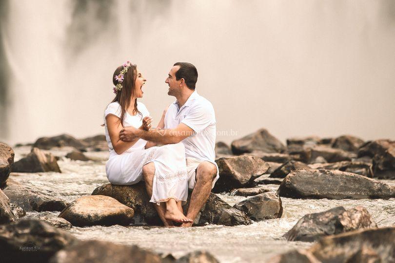 Pré Wedding cachoeiras